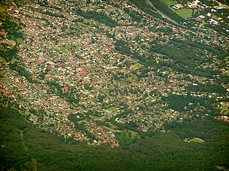 Balgownie, New South Wales - Aerial photo