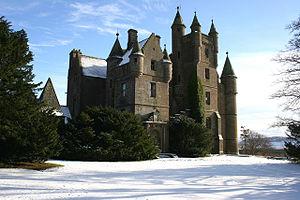 Balintore, Angus - Image: Ballintore castle