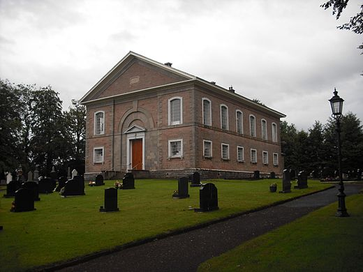 Ballykelly Presbyterian Church, built 1827