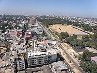 Bangalore - MG Road, Parade Grounds, Stadium.JPG