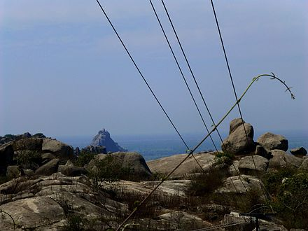 Barabar Caves - Landscape with Rocky Peak (9224642477).jpg
