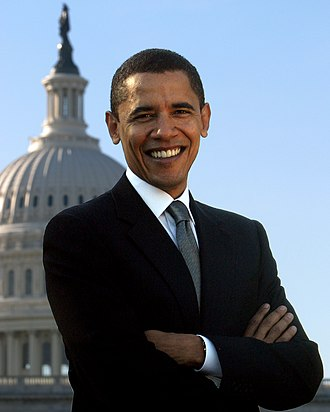 Oregon Democratic primary elections, 2008 - Image: Barack Obamaportrait