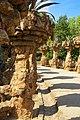 Barcelona - Parc Güell - Gaudí - View North.jpg