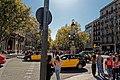 Barcelona - Plaça de Catalunya - View SSE on Rambla de Canaletes.jpg