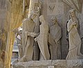 Barcelona Sagrada Familia sculptures Passion facade 2017 08.jpg