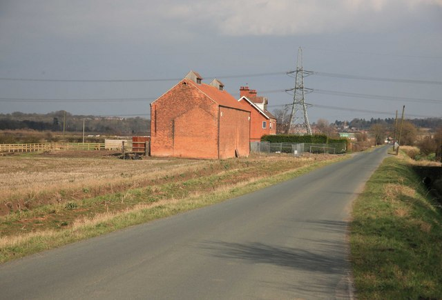Barn and Beck House on the Old Trent Road - geograph.org.uk - 1756307