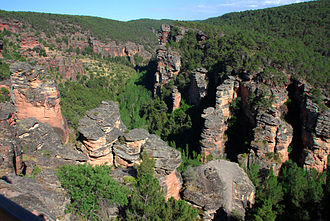 Alto Tajo Nature Reserve - The canyons in the park