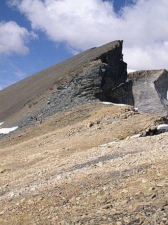 Barrhorn - Image: Barrhorn, summit