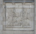 Bas relief. Federal Building and U.S. Courthouse, Asheville, North Carolina LCCN2014630044.tif