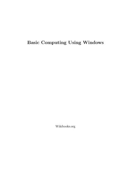 File:Basic Computing Using Windows.pdf