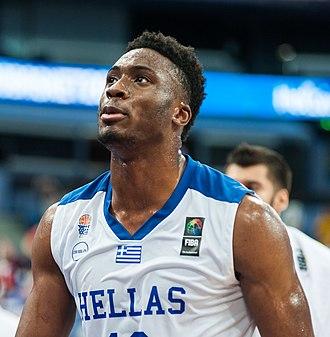 Thanasis Antetokounmpo - Antetokounmpo at the EuroBasket 2017 tournament