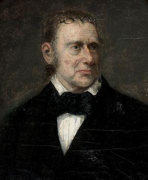 Bass Otis - Bass Otis self-portrait, 1860