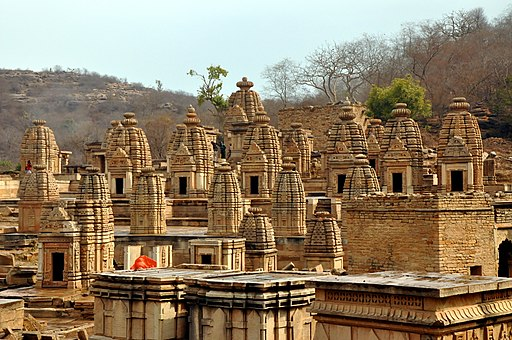 Bateshwar temples in morning sunlight