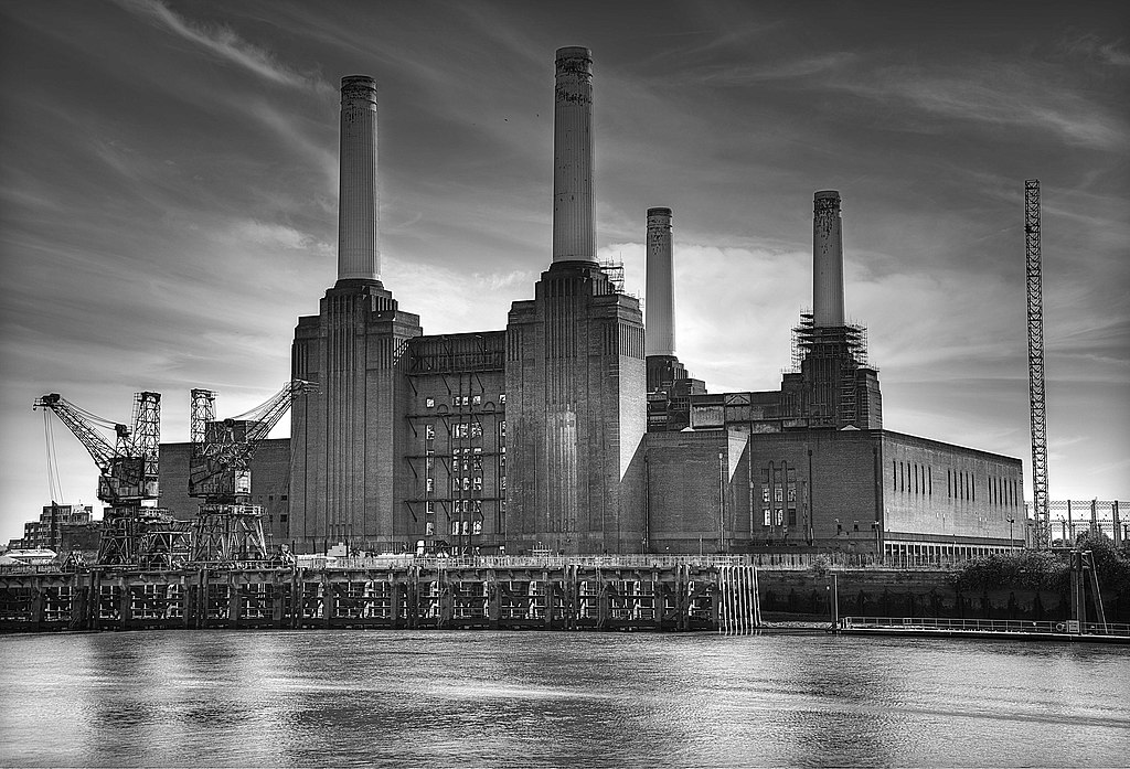 Ancienne centrale électrique de Battersea à Londres - Photo de Lies Thru Lens