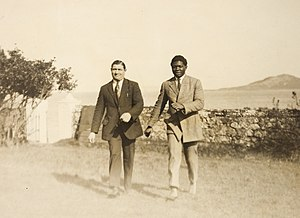 Battling Siki - Siki in Ireland as described. Seen with Eugene Stuber