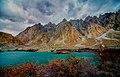 Batura lake and passu cones.jpg