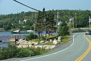 Nova Scotia Route 333 - Image: Bayside NS