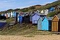 Beach huts, Milford on Sea - geograph.org.uk - 1430877.jpg