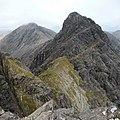 Bealach between Bla Bheinn and Clach Glas - geograph.org.uk - 1483140.jpg