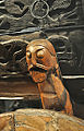 Bearded man carved cart Oseberg ship burial Norway.jpg