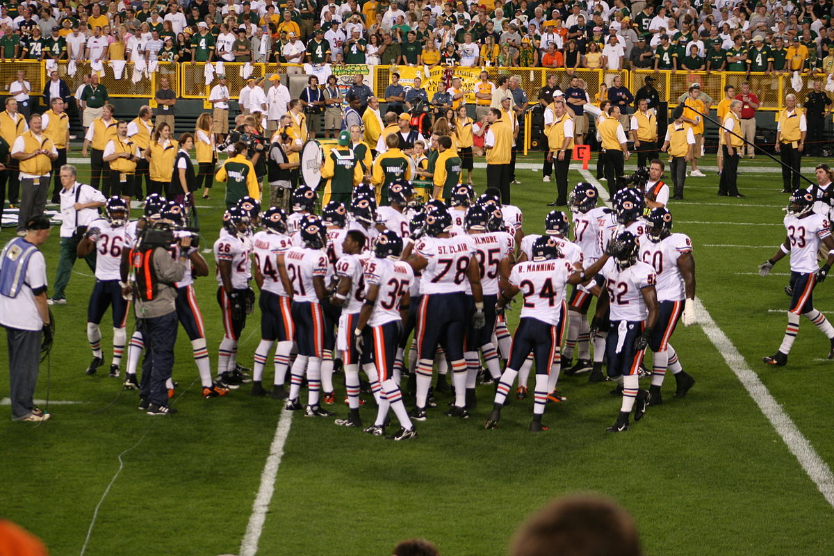 2007 Chicago Bears Season Wikipedia