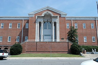 National Register of Historic Places listings in Beaufort County, North Carolina - Image: Beaufort County Courthouse