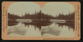 Beautiful Mirror Lake, Yosemite Valley, Cal. U.S.A, by Singley, B. L. (Benjamin Lloyd) 7.png