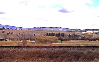 Powell County, Montana - Powell County countryside, near Avon, Montana.