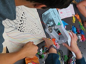 Bedazzler - People have used the white bedazzler tool shown here to adorn their projects.