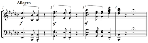 Beethoven Fidelio Overture bar 1-4.png