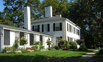 Jonathan Belcher - Belcher's summer home in Milton, Massachusetts was destroyed by fire in 1776, but portions of it may have survived in its replacement, built by his widow.