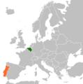 Belgium Portugal Locator.png