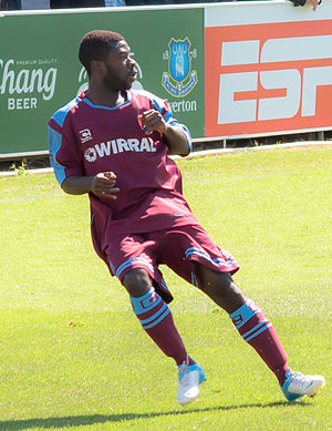 Abdulai Bell-Baggie - Bell-Baggie playing for Tranmere Rovers in 2012.