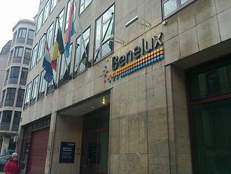 Benelux - The Benelux Union office in Brussels