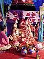 Bengali Hindu Wedding Sindoor Daan and Ghomta.jpg
