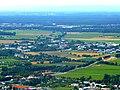 Bensheim-Auerbach – Schloss Auerbach – Blick in die Rheinebene in Richtung Biblis - panoramio.jpg