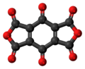 Benzoquinonetetracarboxylic-dianhydride-3D-balls.png