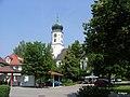 Bergatreute, leider waldet der Kirchplatz allmählich ein. - panoramio.jpg