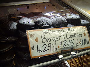 History of the Germans in Baltimore - Berger Cookies.