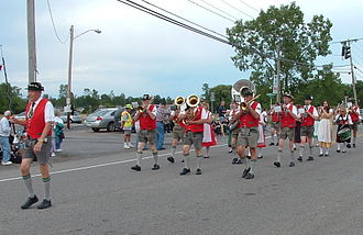 Wheatfield, New York - Bergholz German Band, based in Wheatfield