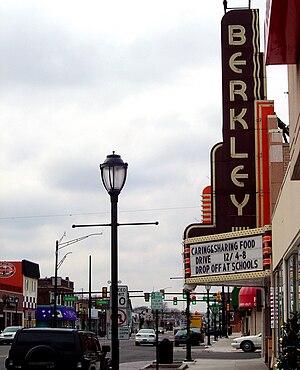 Berkley, Michigan - Downtown Berkley
