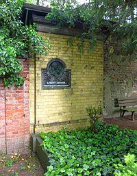 Berlin, Kreuzberg, Bergmannstrasse, Dreifaltigkeitsfriedhof II, Grab August Kopisch.jpg