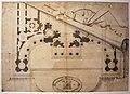 Bernardo antonio vittone, pianta di edificio sacro, ante 1733.JPG