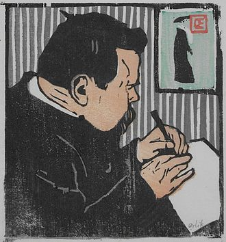 Bernhard Pankok - Graphic portrait of Bernhard Pankok by Emil Orlik.