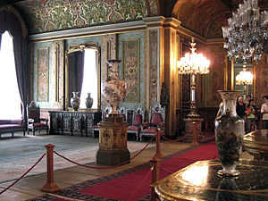 Beylerbeyi Palace - Beylerbeyi Palace interior