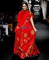 Bhumi Pednekar walks for Rucera at Lakme Fashion Week 2017 (04).jpg