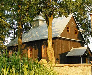 Białków Kościelny Village in Greater Poland Voivodeship, Poland