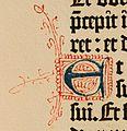 Biblia de Gutenberg, 1454 (Letra E) (21648588359).jpg