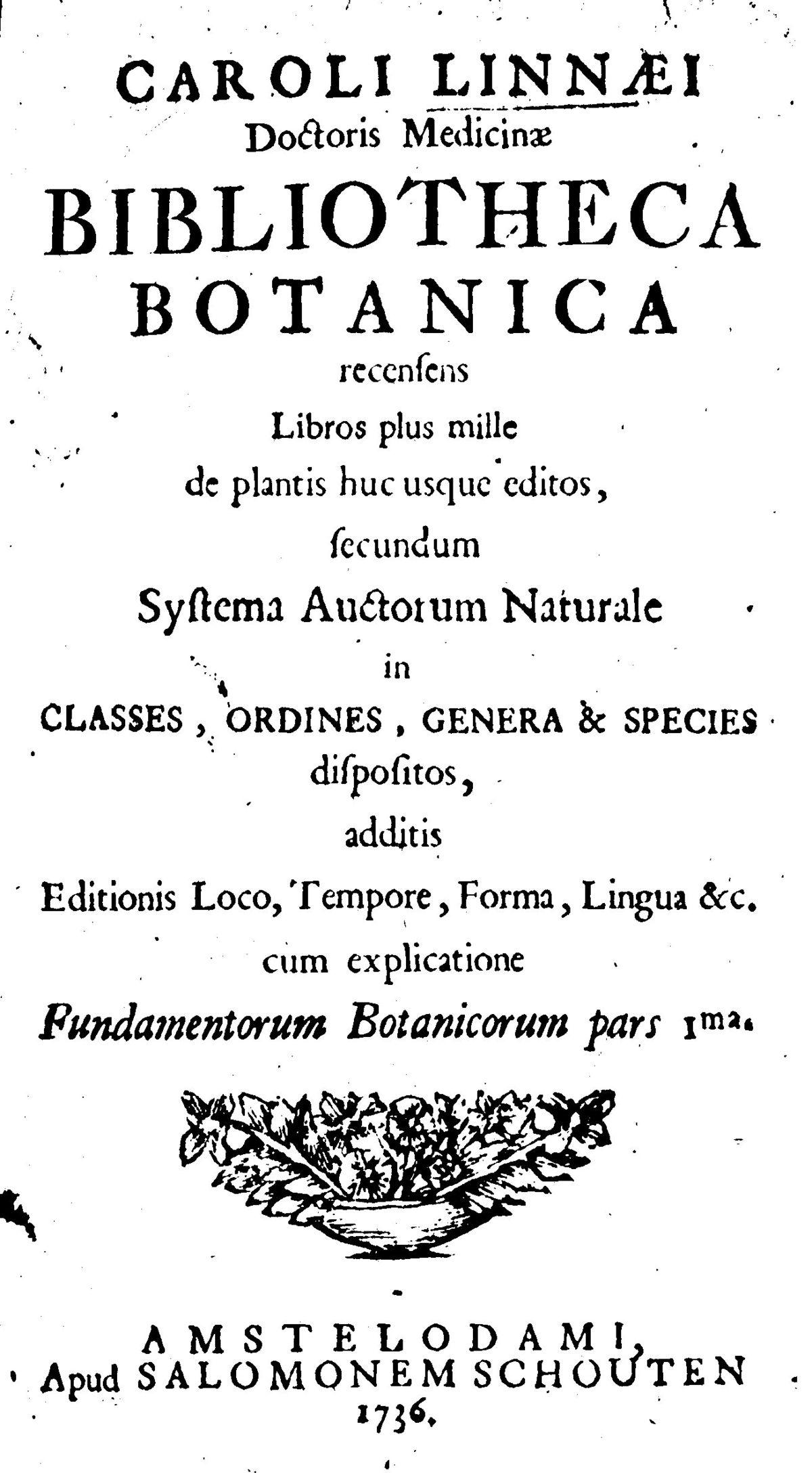 Bibliotheca Botanica - Wikipedia