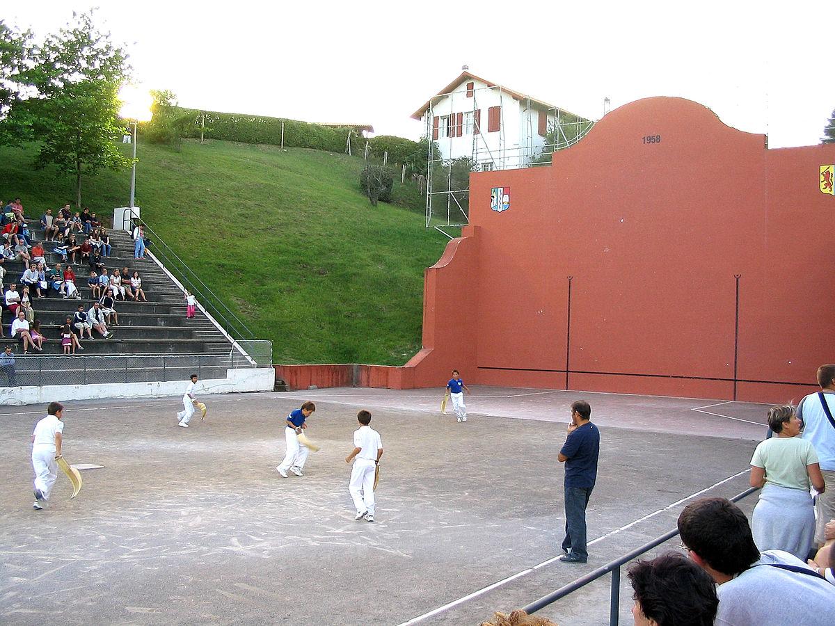pelote basque — Wiktionnaire